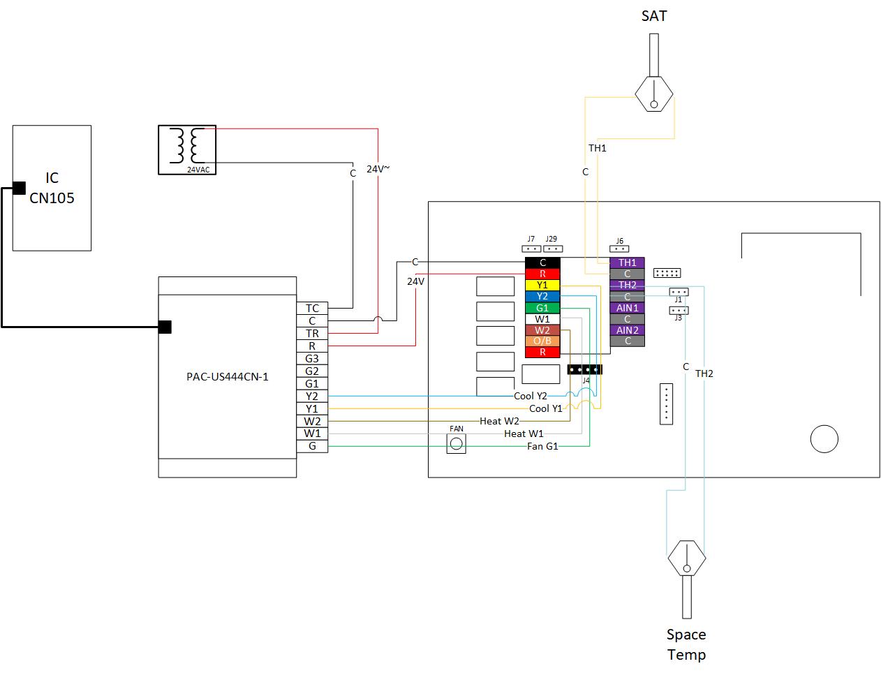mitsubishi vrf control with smart stat  u2013 75f